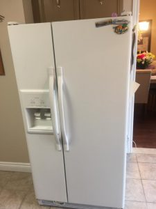 An example of our fridge repair services in Toronto from a past customer.